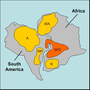 West Africa Sao-francisco-craton